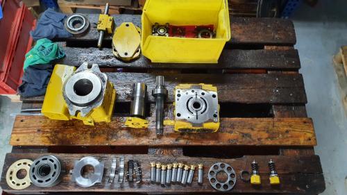 części do pomp i silników