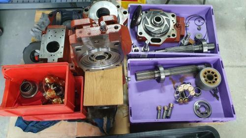 Części pomp hydraulicznych