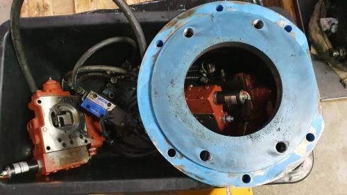 Część silnika hydraulicznego