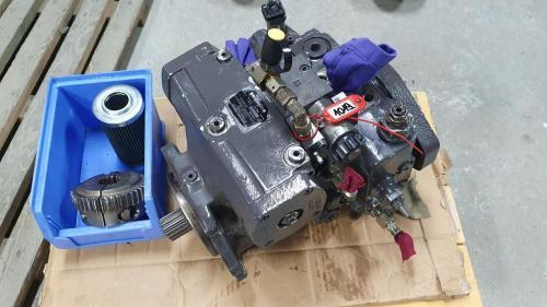 naprawa pompy hydraulicznej w firmie hydromotor.pl - przykład
